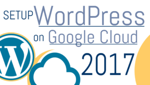 how to setup wordpress on google cloud