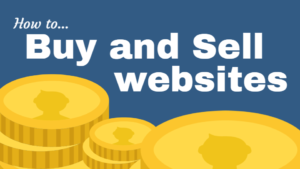 how to buy and sell websites