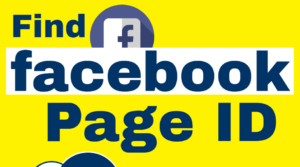 find facebook page id banner