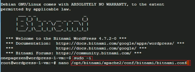 edit bitnami wordpress configuration file ssl certificate setup for wordpress on google cloud