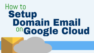 how to set up free custom domain name email google cloud platform zoho gmail