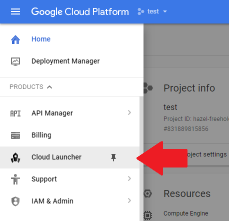 setup and install wordpress on google cloud platform