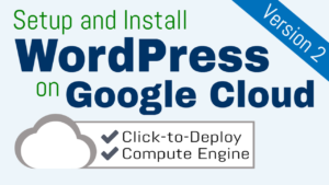 setup wordpress on google cloud platform