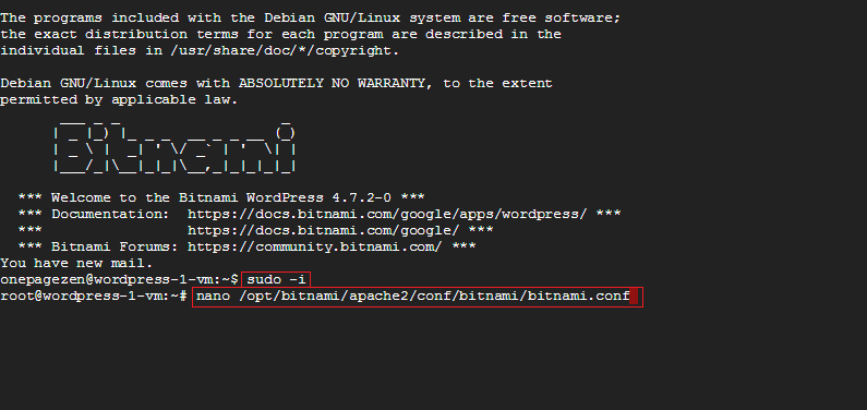 bitnami rewrite engine configure domain ip address