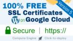 free ssl certificate wordpress google cloud click to deploy