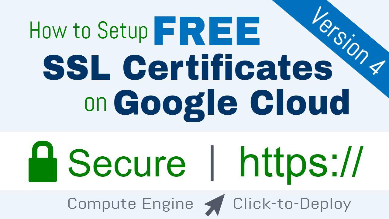 Free ssl certificate setup for wordpress on google cloud click to free ssl certificate setup for wordpress on google cloud click to deploy one page zen xflitez Images