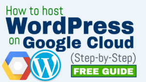 how to host wordpress on google cloud
