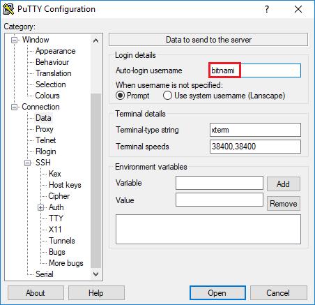 access phpmyadmin ssh tunnel auto login username