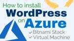 install wordpress on microsoft azure