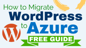 migrate wordpress to azure