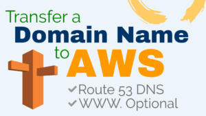 transfer a domain to aws