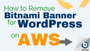 disable bitnami corner banner wordpress aws