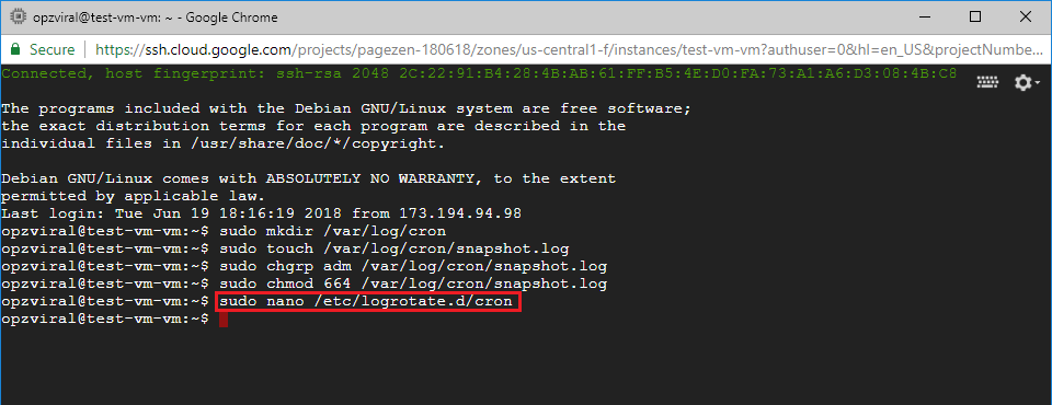 automatic backups google cloud compute engine