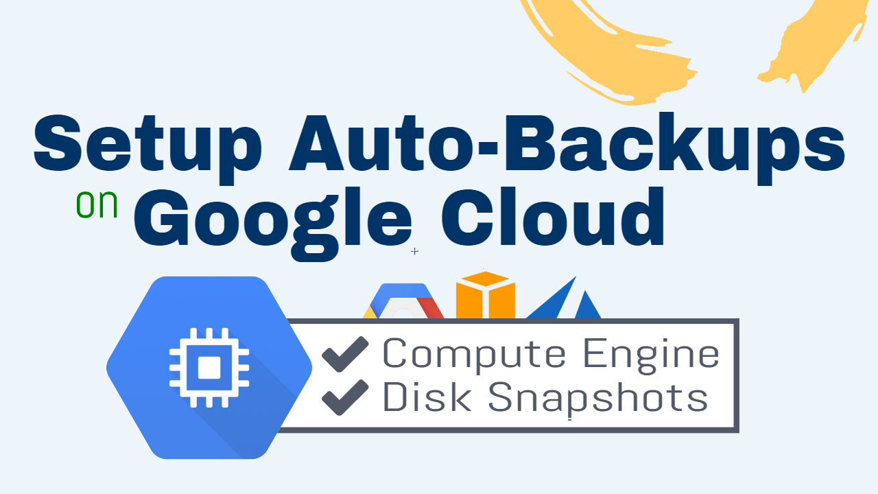 google cloud automatic backups